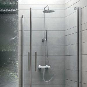 modello doccia grigio