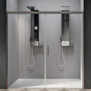 box doccia doppio elegante