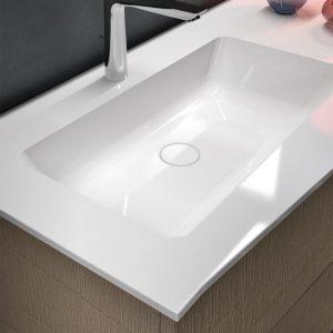 lavabo bianco elegante